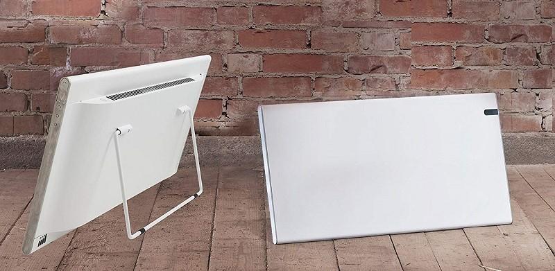 radiador calentador suelo blanco