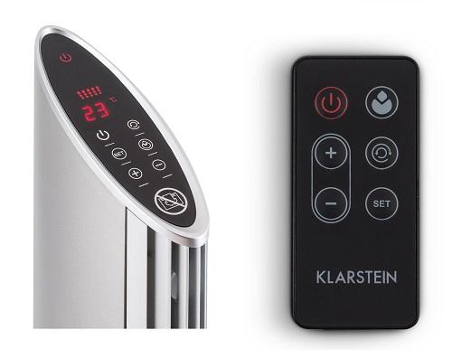 Calefactor cerámico vertical Klarstein Skyscraper Heat con temporizador de oscilación 1600/2500W